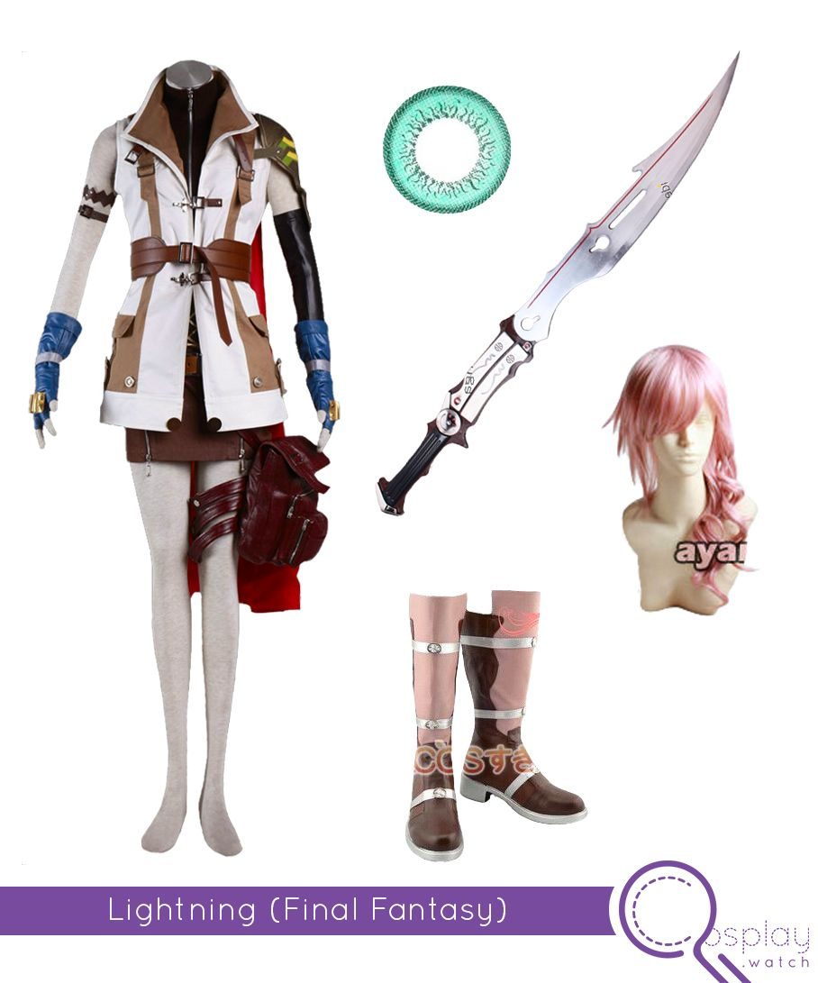 Final Fantasy Lightning Cosplay